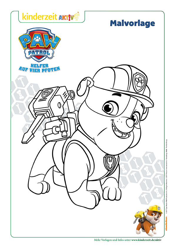 19 Beautiful Ausmalbilder Paw Patrol Chase