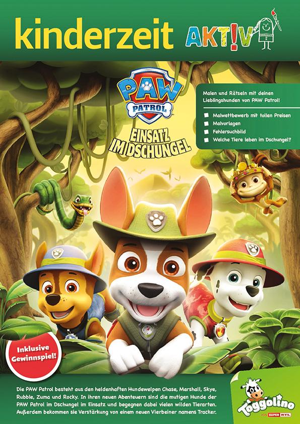 Paw Patrol Male Dein Dschungel Abenteuer Die Fachseite Für