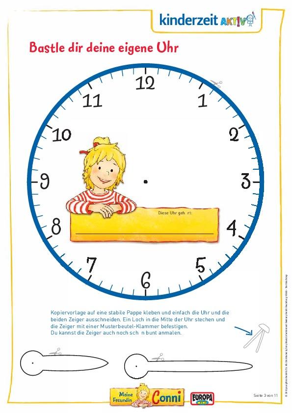 Mit Conni Die Uhrzeit Lernen Die Fachseite Für Erzieher Innen