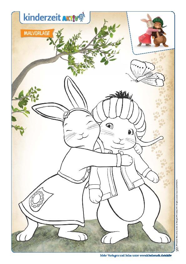 19 Images Ausmalbilder Kaninchen