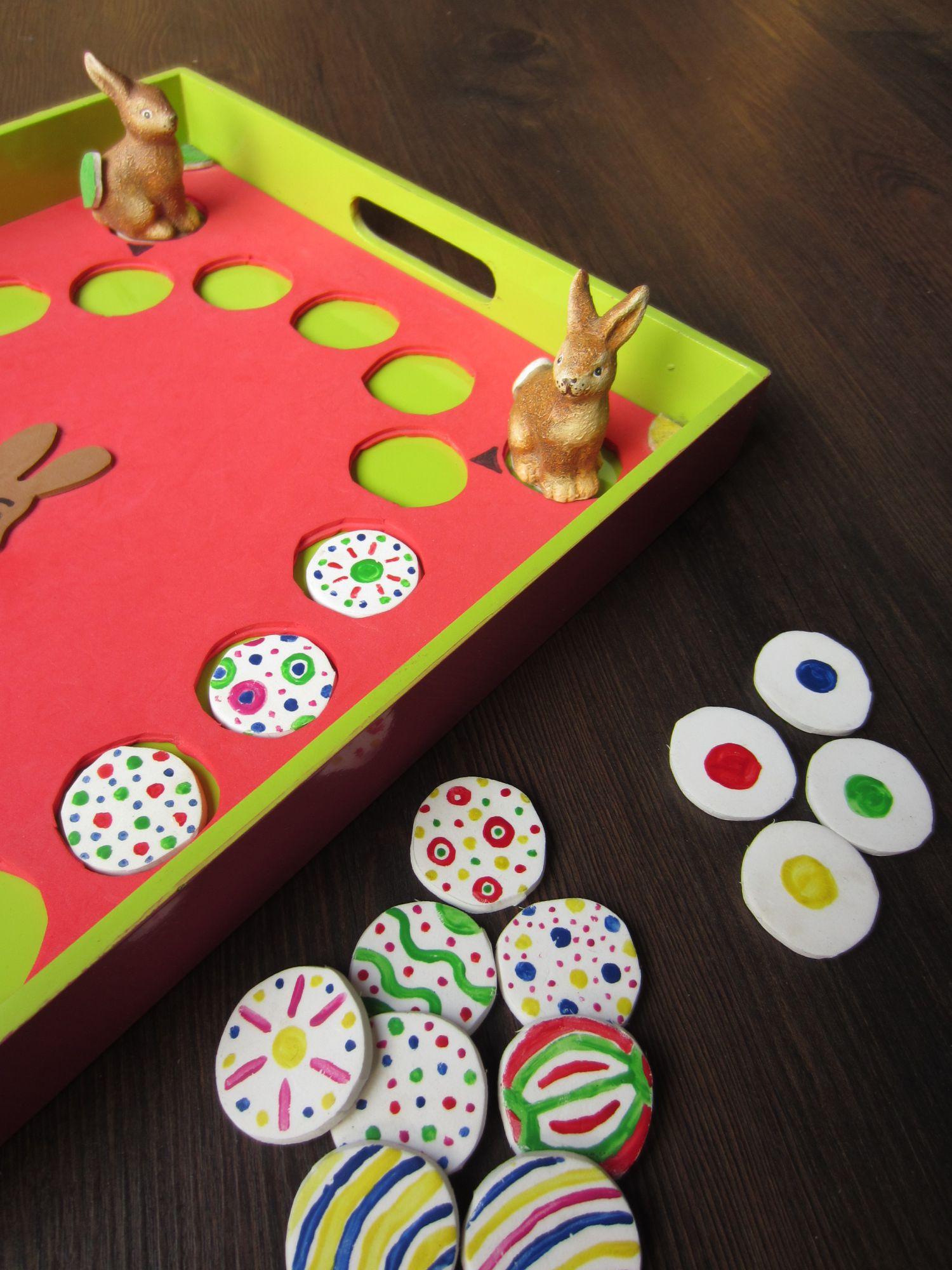 Kinderzeit bastel tipp die gro e eierei zum selbermachen und spielen die fachseite f r - Spielfiguren basteln ...