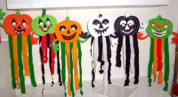 Tolle ideen f r halloween zum nachbasteln die fachseite for Basteln herbst kindergarten